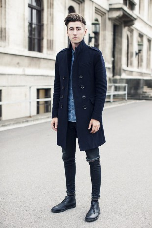Ripped Skinny Jeans Men Style