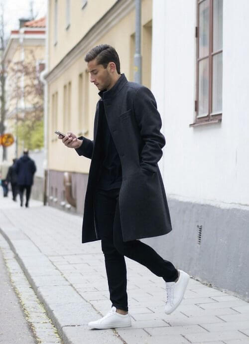 excellent outfit black and white men 14