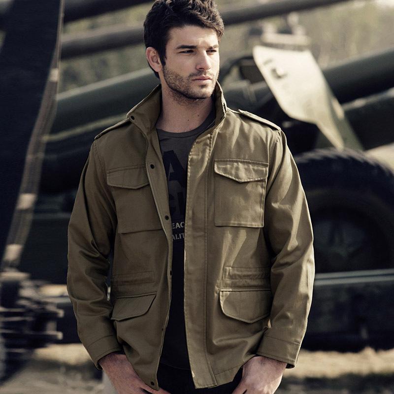 Ak men s clothing 2012 winter font b m65 b font cotton jacket male thickening top