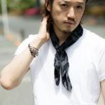 ATTACHMENTアタッチメントとMARCOMONDEマルコモンドとMBでスカーフを作りました!!メルマガ読者先行で発売!!!