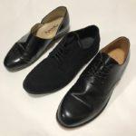 ファッション初心者が最初に買うべき革靴「パドローネ・ダービープレーントゥ」「GU」「HARUTA・スポックシューズ」