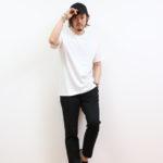 【夏の白Tシャツ着こなし】おすすめコーディネート12選