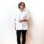 GU1990円のブロードシャツオーバーサイズシャツでおしゃれをしてみよう!