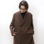 フォーマルと普段着の中間!春秋冬と3シーズン使える最強のジャケットコート!